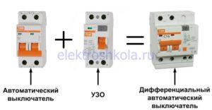 Узо и дифавтомат для стиральных машин