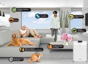 Какой очиститель воздуха для дома выбрать при аллергии на пыльцу шерсть животных и для астматиков