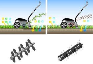 Как выбрать аэратор для газона: бензиновый или электрический скарификатор или вертикуттер