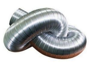 Гофрированные алюминиевые трубы для вентиляции