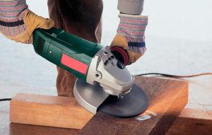 Как правильно шлифовать болгаркой дерево бетон металл кирпич