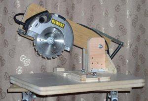 Как сделать своими руками из болгарки циркулярку торцовку ручную электропилу
