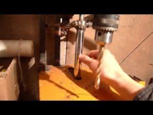 Недорогая стойка для дрели своими руками с подробной инструкцией