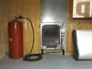 ИК-обогреватели на природном или сжиженном газе для дачи и дома