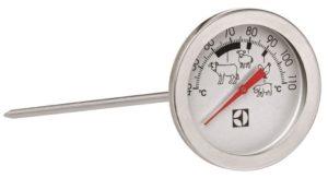 Использование термометра и турмощупа для духовки