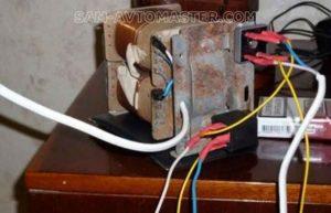Как самостоятельно сделать споттер из микроволновой печи