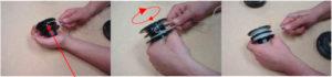 Перезаряжаем мотокосу. Как наматывать леску на катушку триммера :