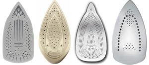Какая подошва утюга лучше: 5 вариантов пластин для идеальной глажки
