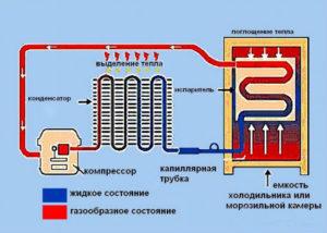 Устройство и принцип работы холодильника: двухкамерного, абсорбционного