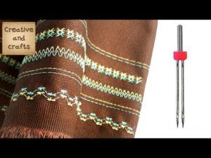 Способы шитья двойной иглой