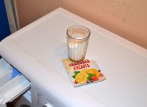 Чистка стиральной машины с лимонной кислотой от накипи