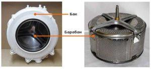 Материал бака стиральной машины