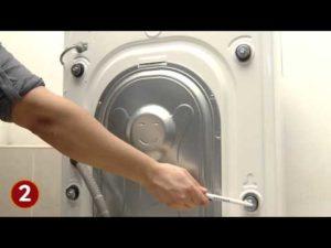 Транспортировочные болты в стиральной машине: для чего нужны и как их снять