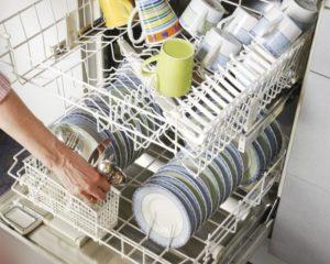 Посудомоечная машина бьет током: что делать