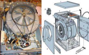 Ремонт стиральной машины Занусси своими руками