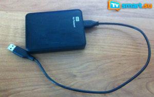 Подключение жесткого диска к телевизору