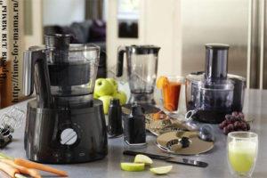 Делаем выбор: кухонный комбайн или блендер