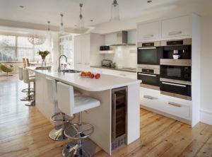 Встраиваемая техника в кухне: все за и против