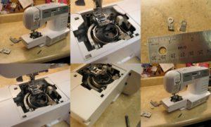 Самостоятельный ремонт швейной машины