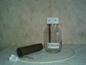 Прибор для приготовления Живой и Мертвой воды с АНОДНЫМ электродом из сверхчистого ГРАФИТА