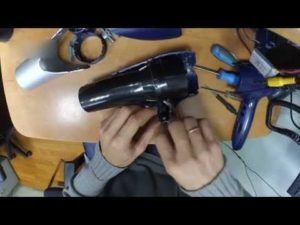 как разобрать фен для волос филипс
