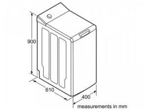 Стандартные размеры стиральных машин с горизонтальной и вертикальной загрузкой