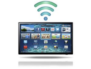 Smart TV без проводов по Wi-Fi