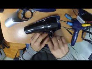 Как разобрать фен Philips
