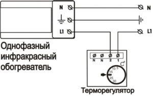 Терморегулятор для инфракрасного обогревателя: схема подключения, виды и выбор
