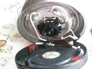 Как отремонтировать дисковый электрочайник