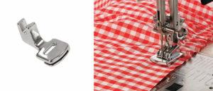 Виды и назначение лапок для швейной машины. Часть 3