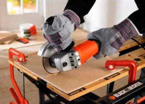 Особенности резки плитки болгаркой: как резать без сколов