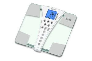 Весы напольные, электронные с анализатором состава тела: жира, воды и мышц