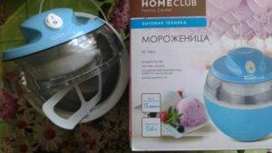 Мороженица homeclub: особенности модели sc 06a