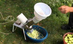 Электрический измельчитель для овощей и фруктов