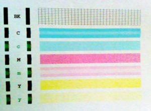 Почему струйный или лазерный принтер печатает полосами и что делать в этом случае