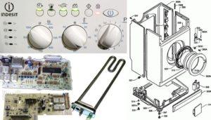 Ремонт своими руками неисправностей стиральной машины Индезит