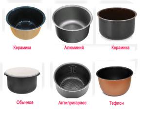 Какое покрытие чаши для мультиварки лучше?
