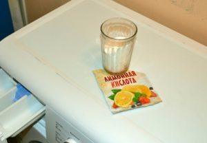 Чистим стиральную машину лимонной кислотой