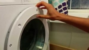 Не открывается дверь стиральной машины - что делать