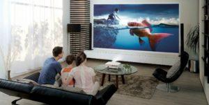 Проектор vs. телевизор — за и против