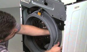 Замена резинки в стиральной машине своими руками - особенности, пошаговое описание и рекомендации