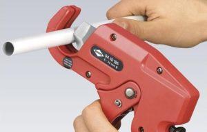 Ножницы для резки полипропиленовых труб: разновидности и применение