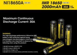 Какие аккумуляторы 18650 лучше для электронных сигарет