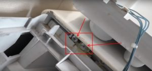 Как снять верхнюю крышку стиральной машины на примере Indesit, Lg, Bosch, Samsung