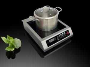 Мощность индукционной плиты от 3 до 10 кВт