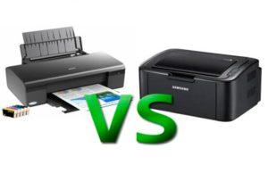Какой принтер лучше купить для дома и офиса: лазерный или струйный чем они отличаются