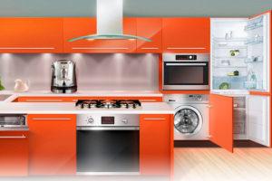 Плюсы и минусы встраиваемой бытовой техники для кухни