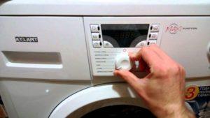Что делать, когда стиральная машина Атлант выдает ошибку F4