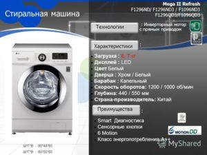 Виды стиральных машин: особенности и производители